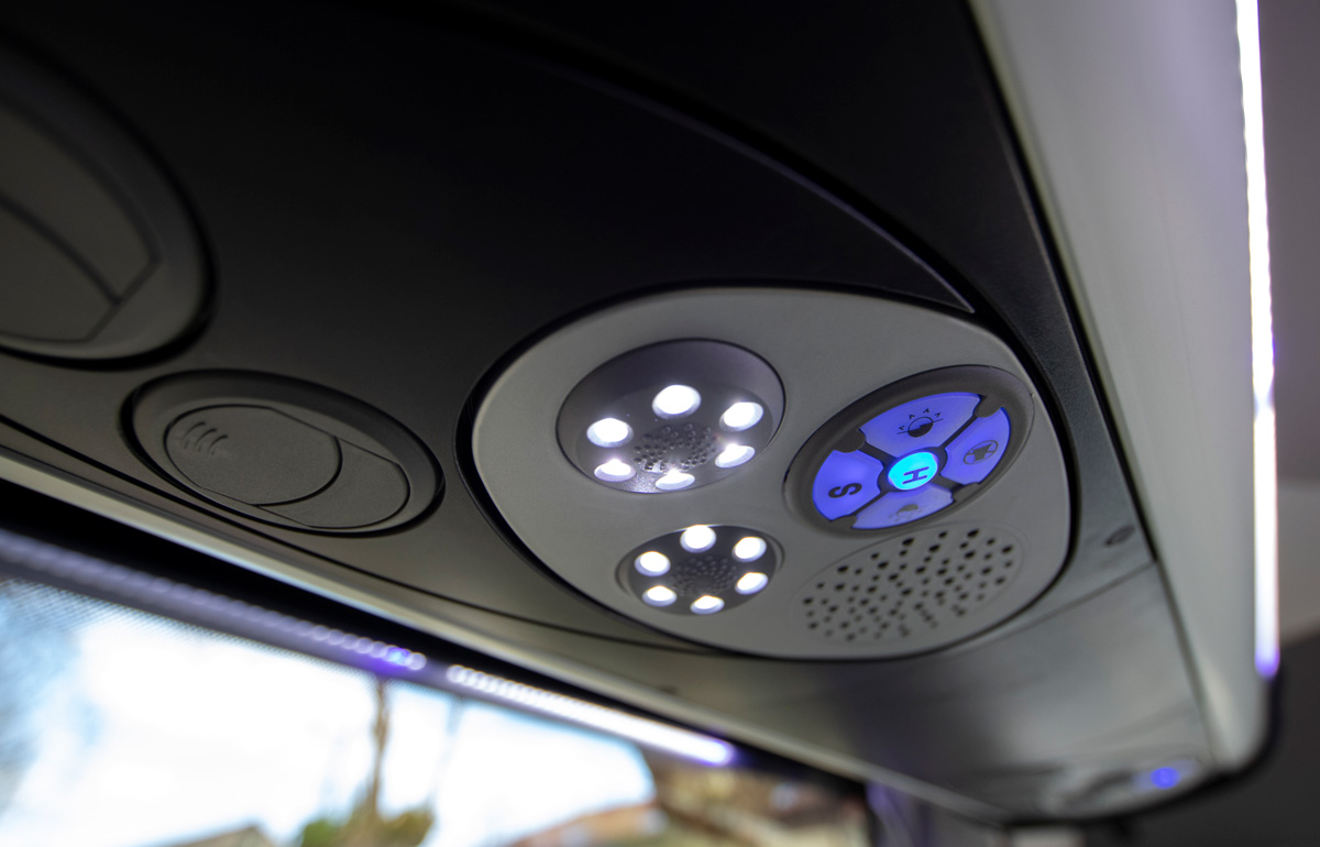 Minibus Galicia Conector USB